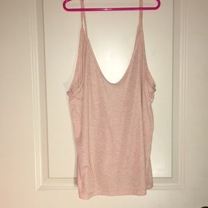 FOREVER 21 contemporary beige tank